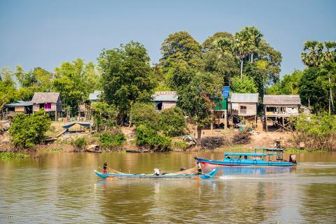 cambodia fishing village