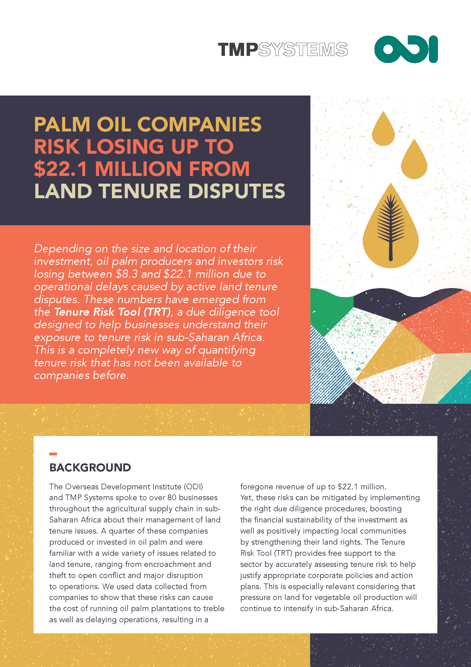 QTR brief - Palm Oil cover