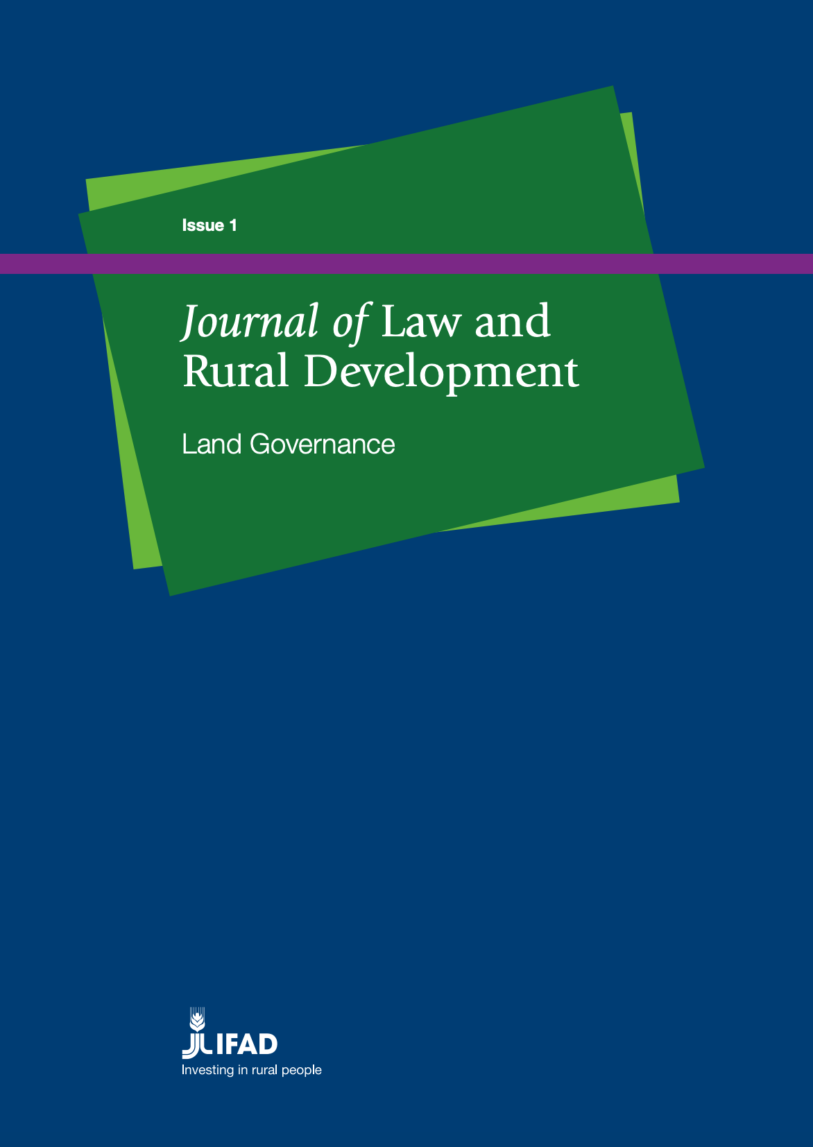 Journal of Law and Rural Development: Land Governance cover image