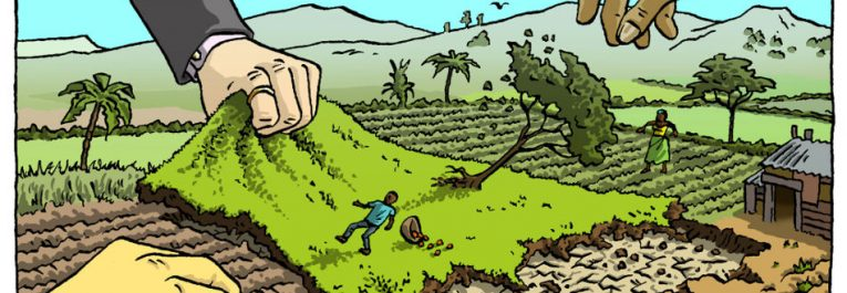 Promoting Land Grabs, Increasing Inequality