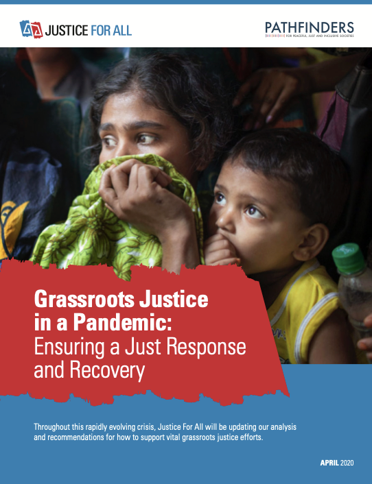 Grassroots Justice in a Pandemic: Ensuring a Just Response and Recovery