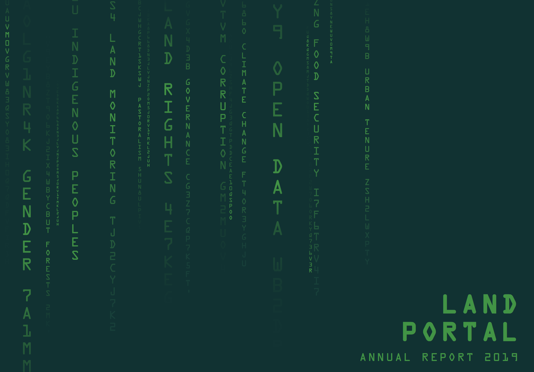 Land Portal Annual Report 2019
