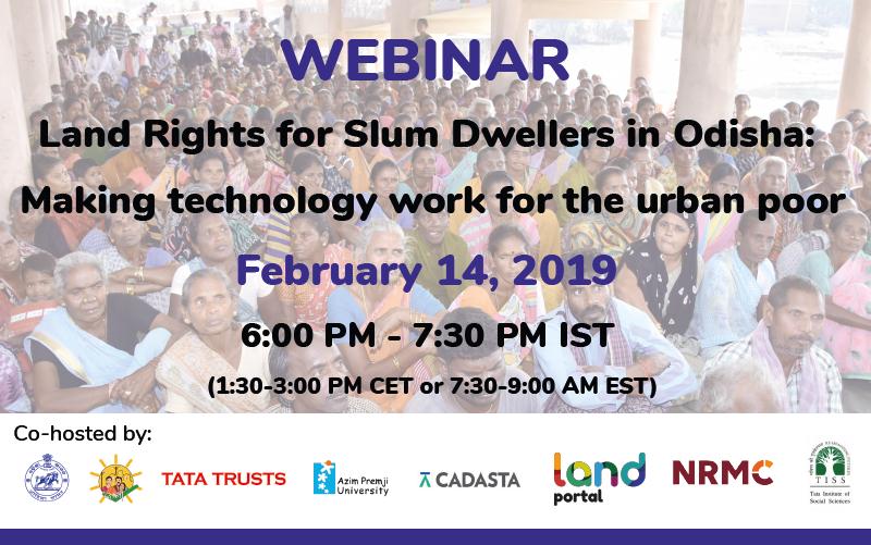 slum dwellers in Odisha