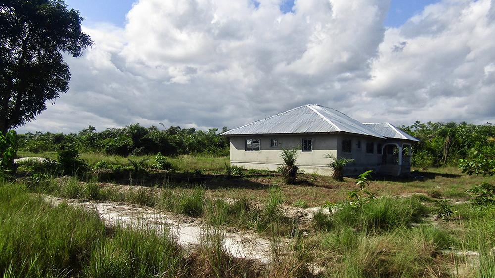 House built by encroachers on Judy's land (© CENTAL)