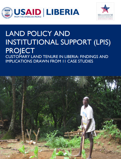 LAND POLICY AND INSTITUTIONAL SUPPORT (LPIS) PROJECT