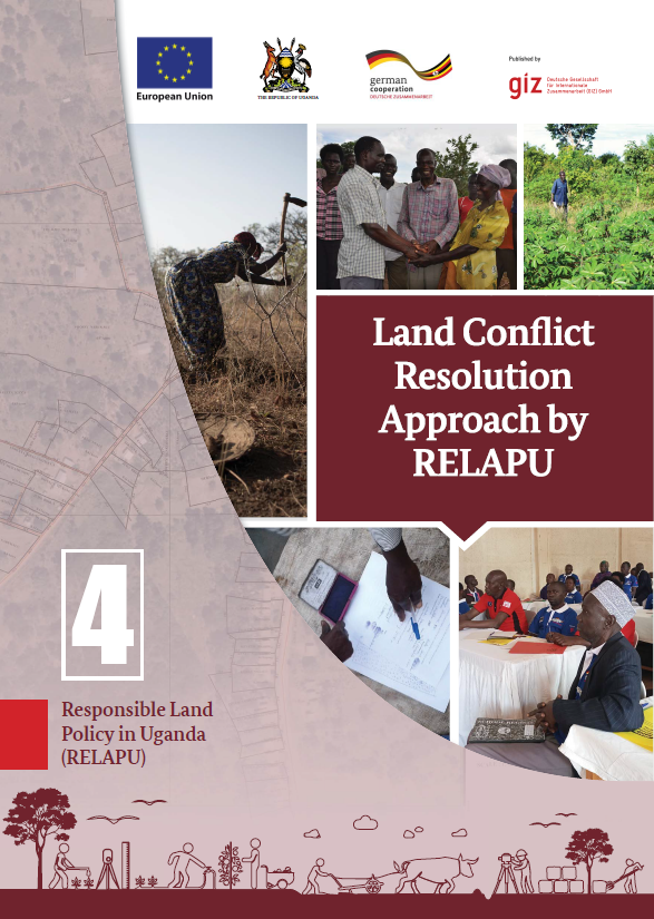 RELAPU land conflict resolution cover