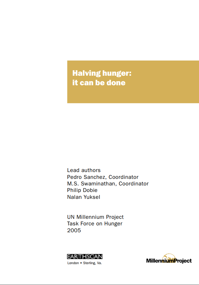 Halving Hunger cover image