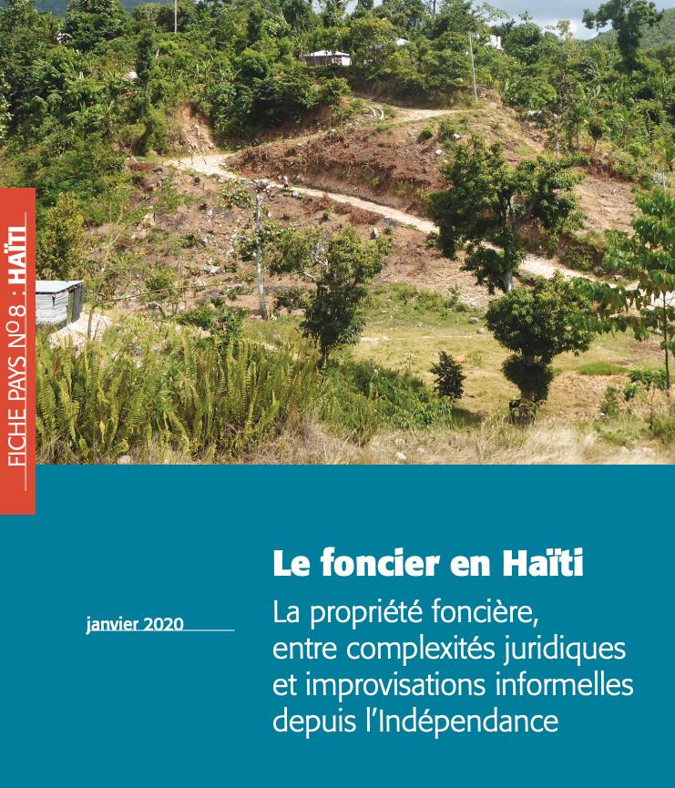 Le foncier en Haïti