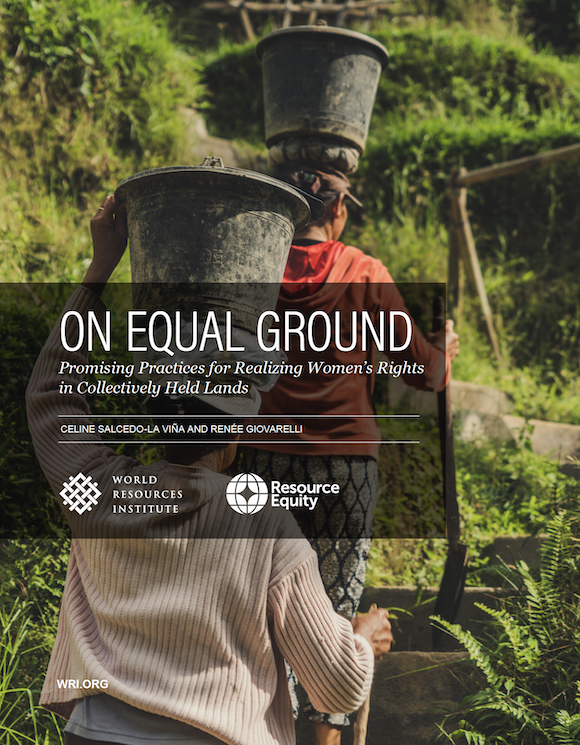 On Equal Ground: Promising Practices for Realizing Women's Rights in Collectively Held Lands