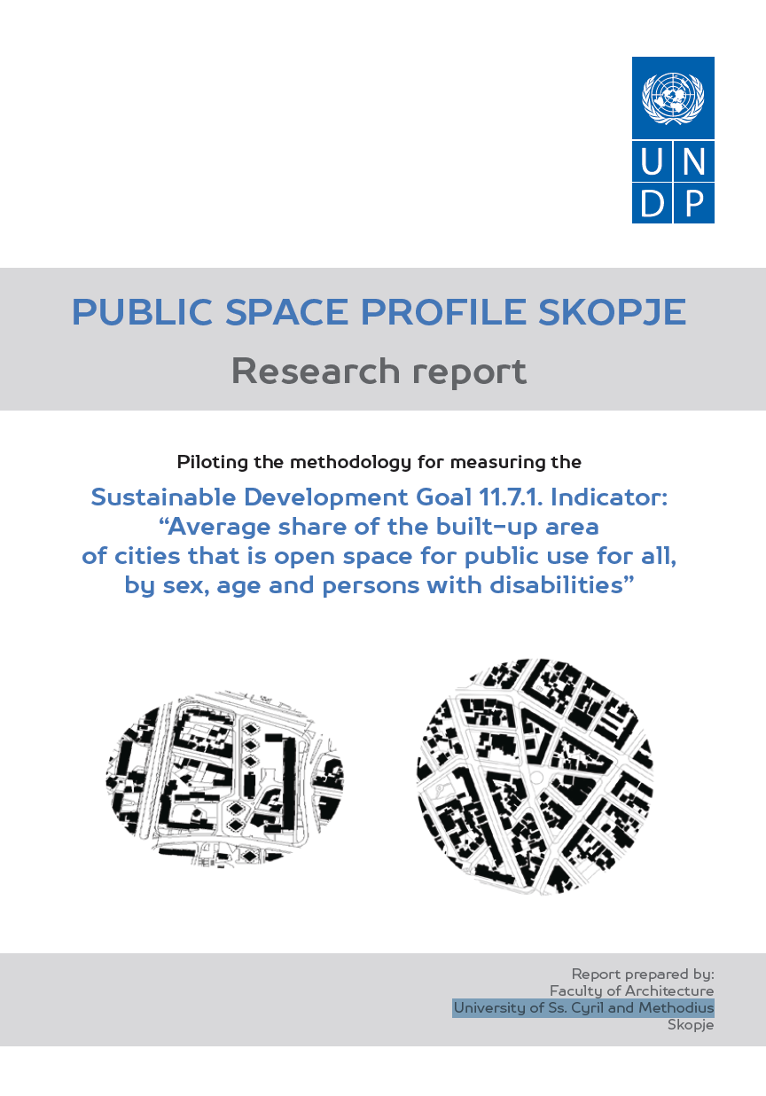 Public Space Profile Skopje: Research Report cover image