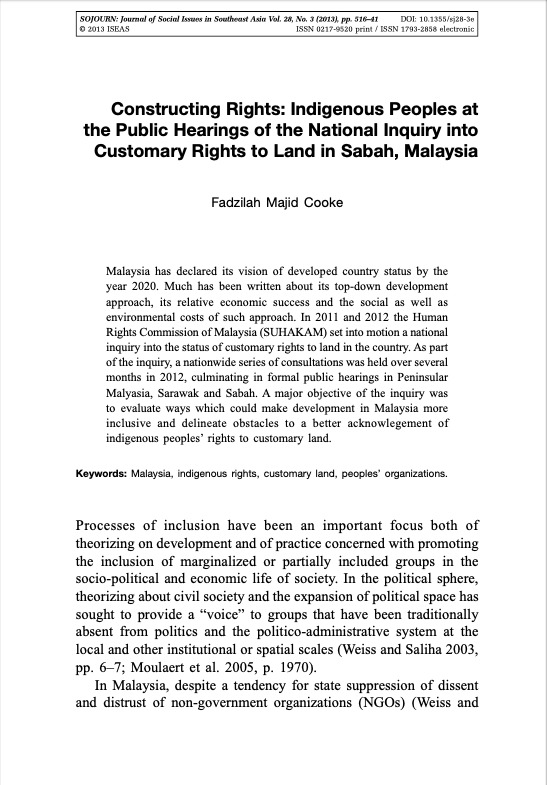 Constructing Rights
