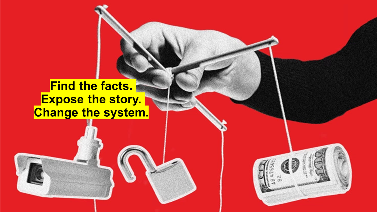Global Witness: Find the fact, change the story, expose the system.