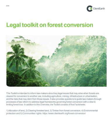 Forest conversion toolkit