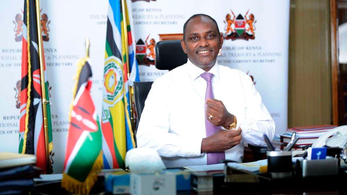 Treasury Cabinet Secretary Ukur Yatani at his office in Nairobi on June 9, 2021, a day before reading the 2021/22 Budget. PHOTO   JOAN PERERUAN   NMG