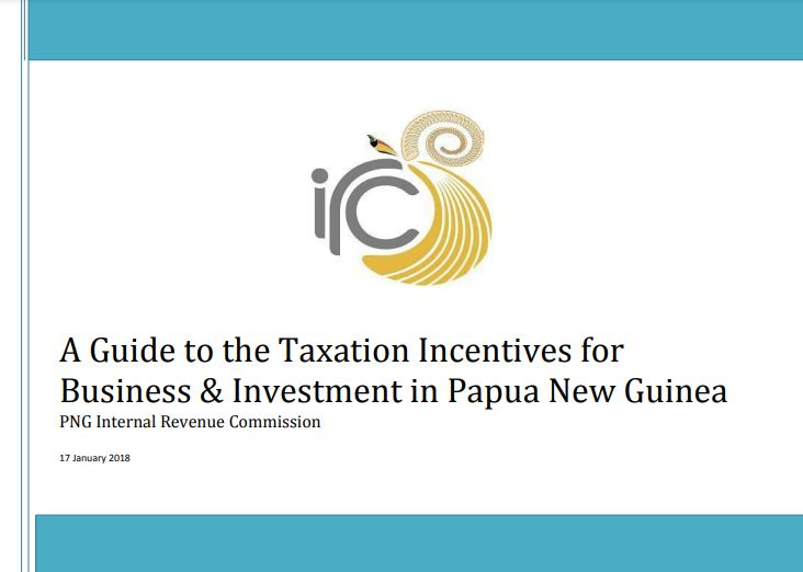 a guide to taxation incentives