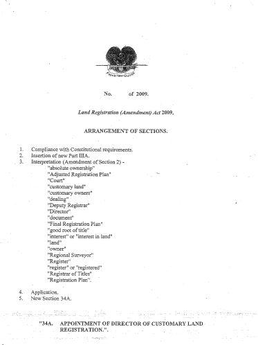PNG arrangements of sections