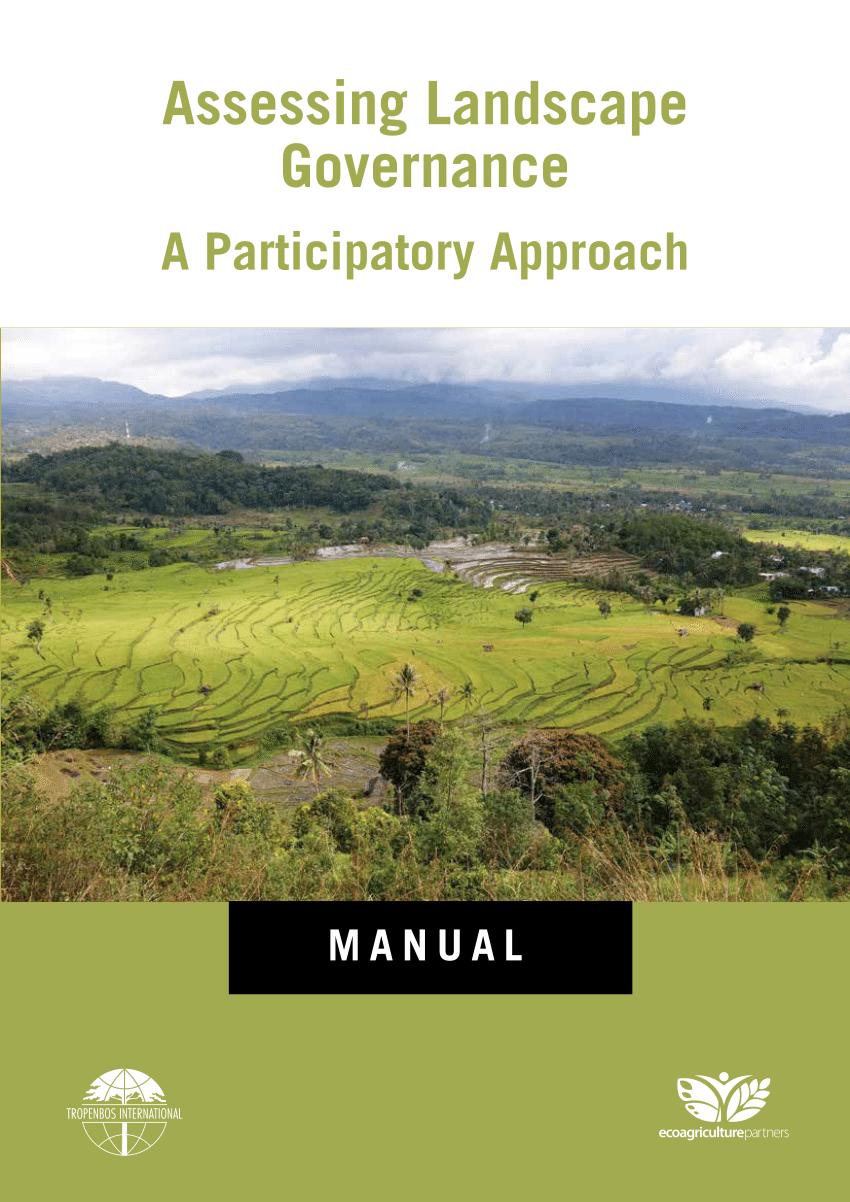 assessing landscape governance