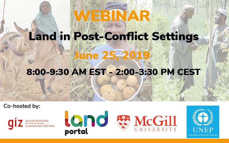 Land in Post-Conflict Settings