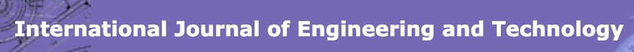 International Journal of Engineering & Technology