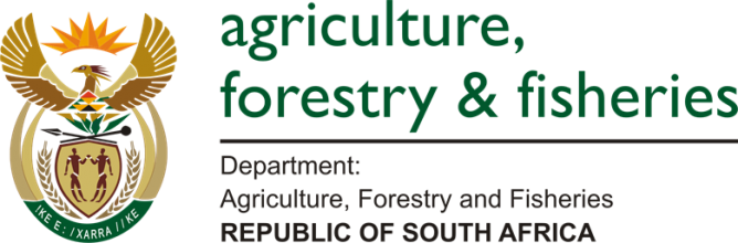 Department of Agriculture Forest and Fisheries logo