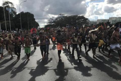 O Congresso Nacional tornou-se um campo de caça aos direitos dos povos indígenas - Foto: Celso Maldos