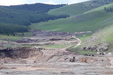 Tsenkher Soum, Mongolia, WOLTS Project