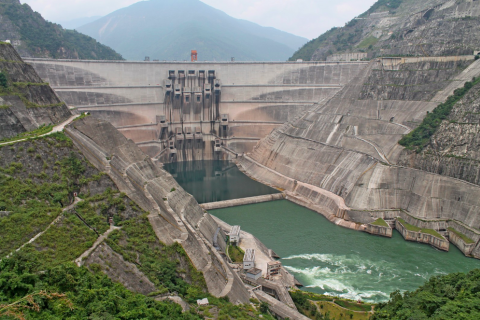 XIAOWAN DAM IN NANJIAN COUNTY, YUNNAN PROVINCE, SOUTHWEST CHINA. PHOTO CREDIT: GUILLAUME LACOMBE/CIRAD