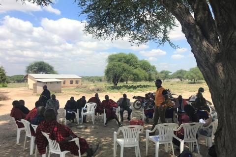WOLTS Champions Training in Tanzania