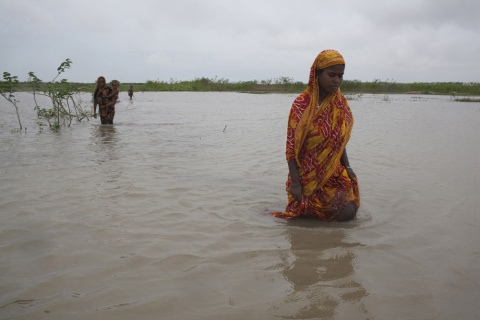 Climate displacement bangladesh. Stuart Matthews Flickr