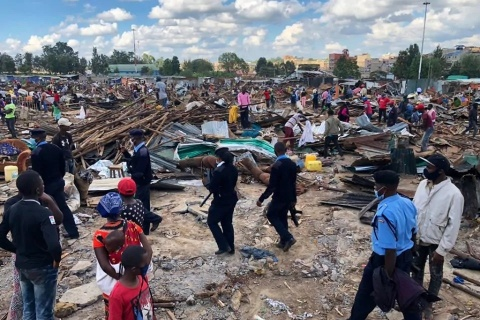 UN-Habitat policy statement on the prevention of evictions and relocations during the COVID-19 crisis