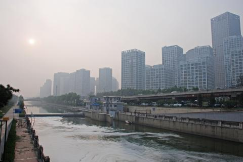 china smog city