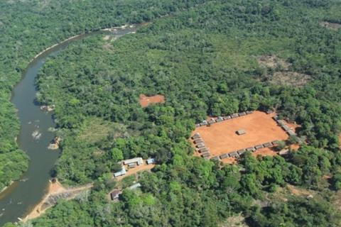(Foto: Aldeia A'Ukre, no sul do Pará, onde foi realizado o estudo/Arquivo da pesquisadora Patricia Fernanda do Pinho)