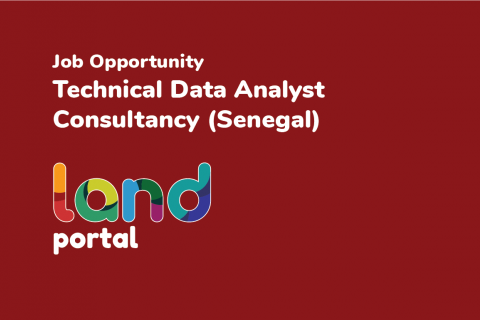Technical Data Analyst Consultancy - Senegal