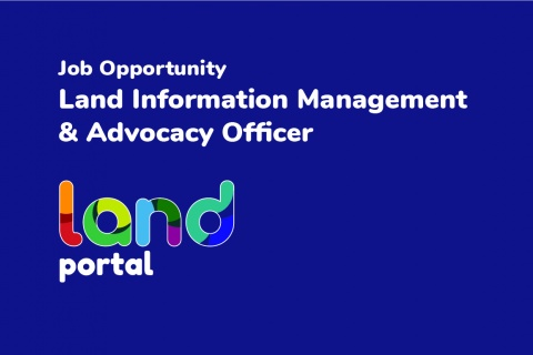 Land Information Management & Advocacy Officer