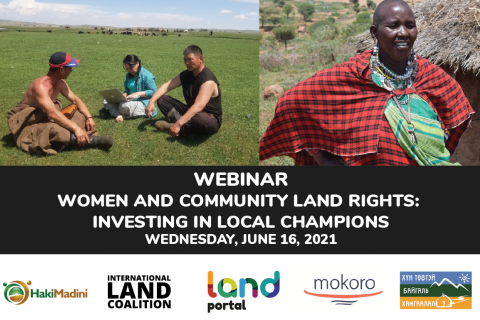 Women and Community Land Rights: Investing in Local Champions