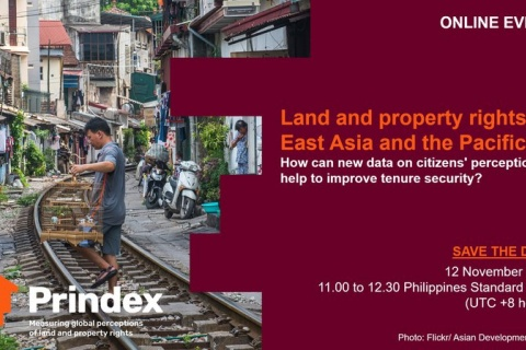 Land and property rights in East Asia and the Pacific