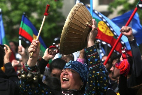 Mujer mapuche_Imagen de Dalia Chíu S