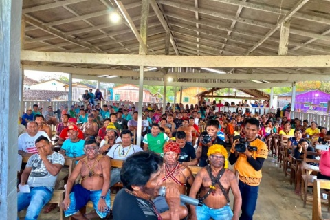 Foto: movimento Munduruku Ipereg Ayu