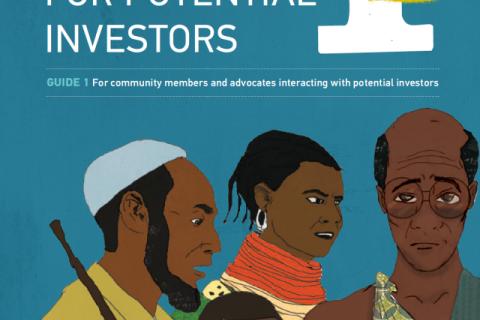 community-investor negotiation guide