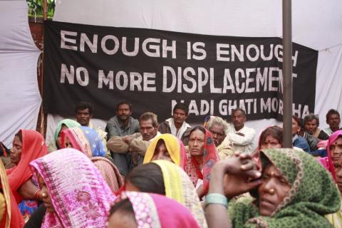 India land rights protests