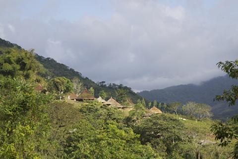 Village de Boqueron - Haut de la vallée de Mendihuaca - Crédit Eric Julien