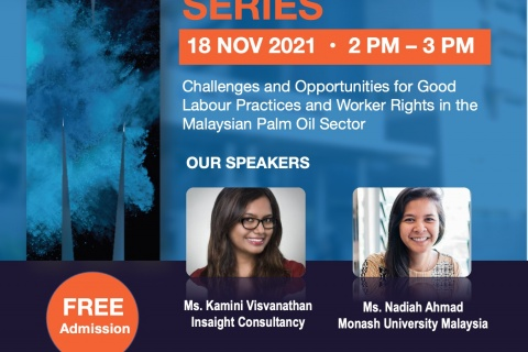 Webinar: Challenges and opportunities for good labour practices and worker rights in the Malaysian palm oil sector