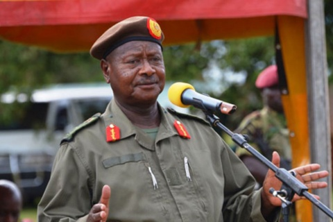 President Yoweri Museveni told a socially-distanced and masked gathering at Kololo Independence grounds on June 9- that the Mailo land tenure system should be reformed. PHOTO/FILE