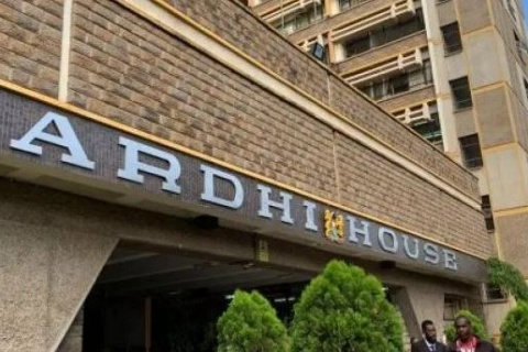 Ardhi House, Lands Ministry headquarters in Nairobi