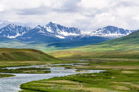 Deosai, Gilgit Baltistan, Pakistan, photo by Qammer Wazir, Wikimedia Commons license