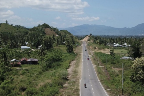 A road project in Indonesia's Gorontalo carves a path of graft and grief