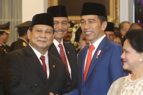 Indonesia's defence minister sued over land grab