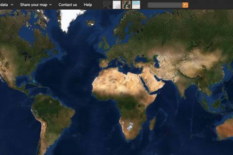 geoportal screenshot