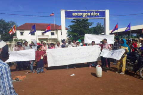 One Land Disputant Detained, 20 Released in Tbong Khmum