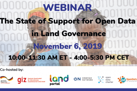 State of Support for Open Data in Land Governance
